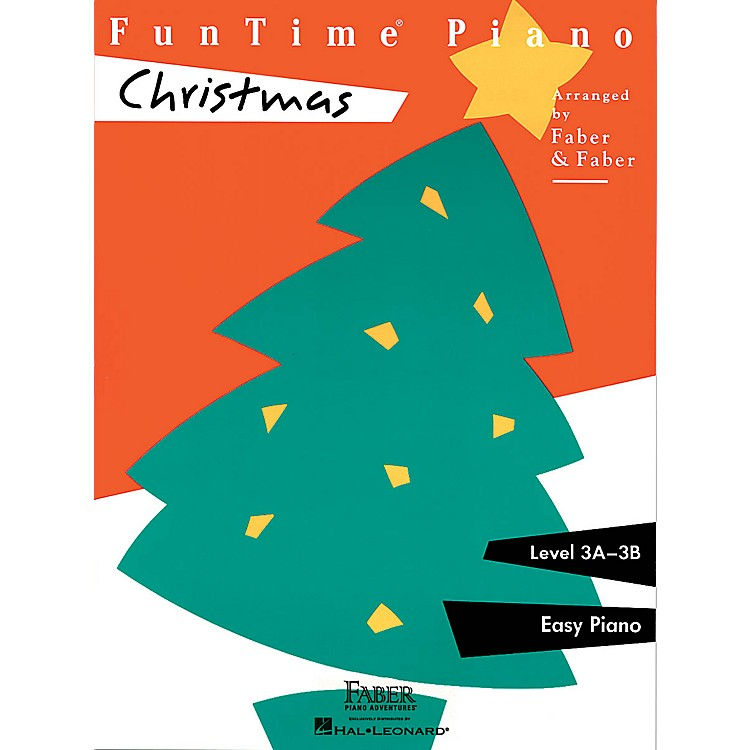 Faber Piano Adventures FunTime® Christmas (Level 3A-3B) Faber Piano Adventures® Series Disk