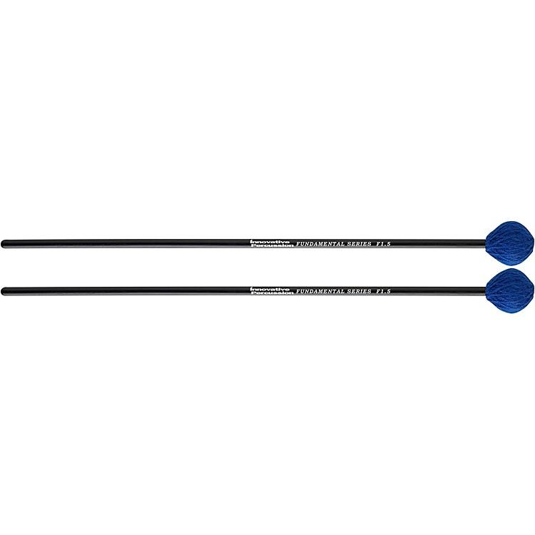 Innovative PercussionFundamental Series Medium-Soft Marimba MalletMediumBlue Yarn