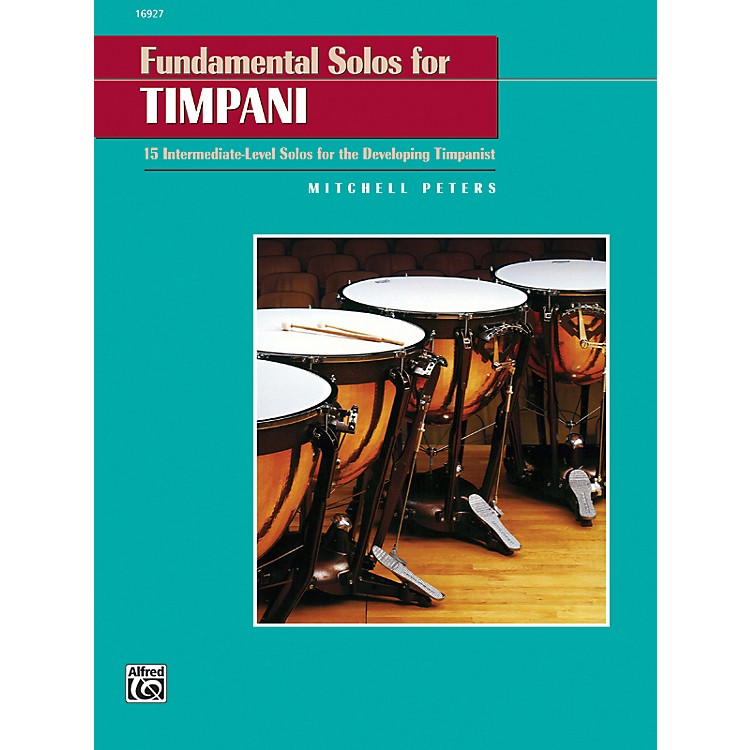 Alfred Fundamental Solos for Timpani