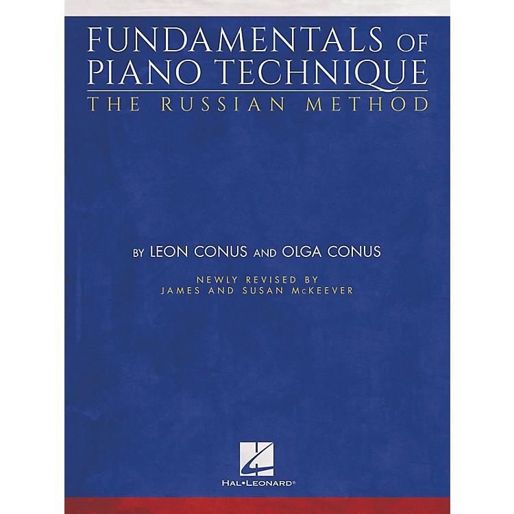 Hal LeonardFundamentals of Piano Technique - The Russian Method Piano Instruction Series Softcover by Olga Conus