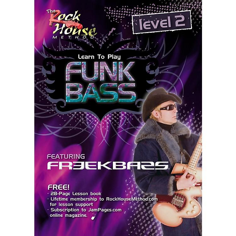 Hal LeonardFunk Bass Level 2 with Freekbass (DVD)