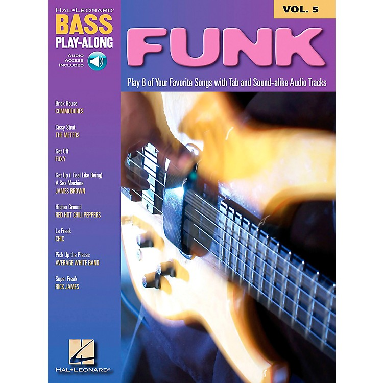 Hal LeonardFunk Bass Play-Along Series Book with CD