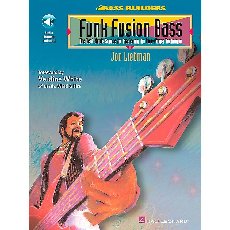 Hal LeonardFunk Fusion Bass Book/CD