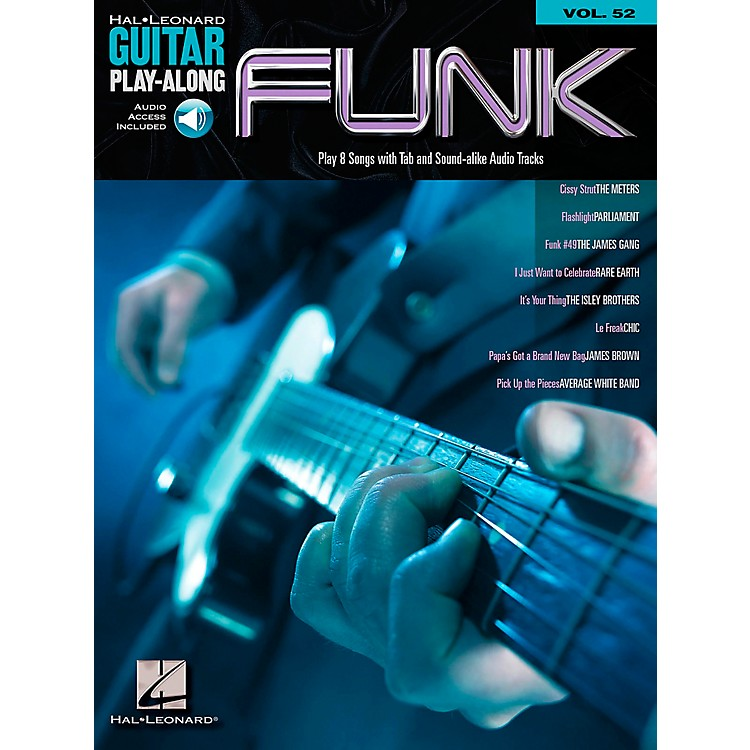 Hal LeonardFunk Guitar - Guitar Play-Along Series, Volume 52 (Book/CD)