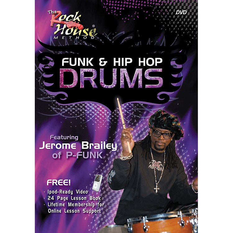Hal LeonardFunk & Hip-Hop Drums Featuring Jerome Brailey of P-Funk (DVD/Book)
