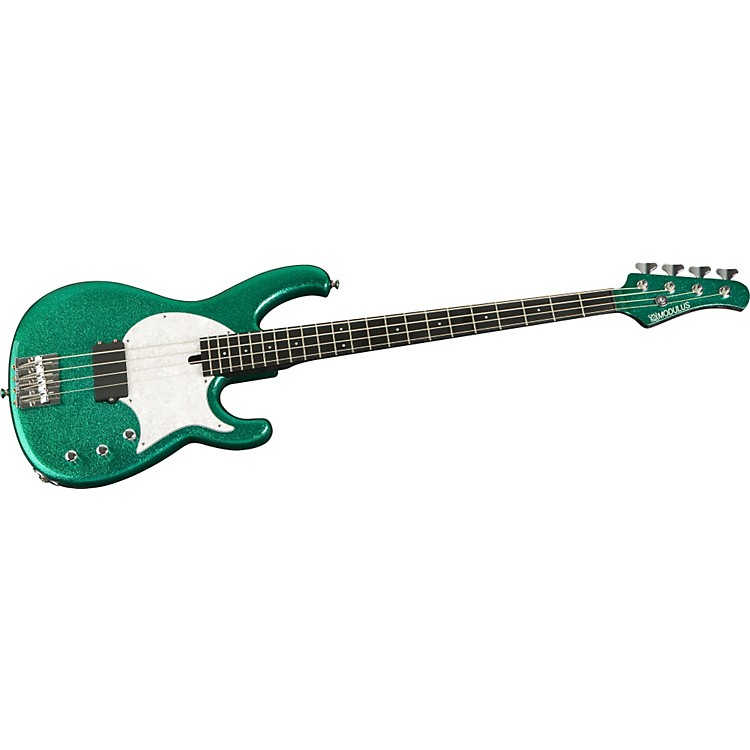 Modulus Guitars Funk Unlimited FB4 Bass Guitar Flake Green