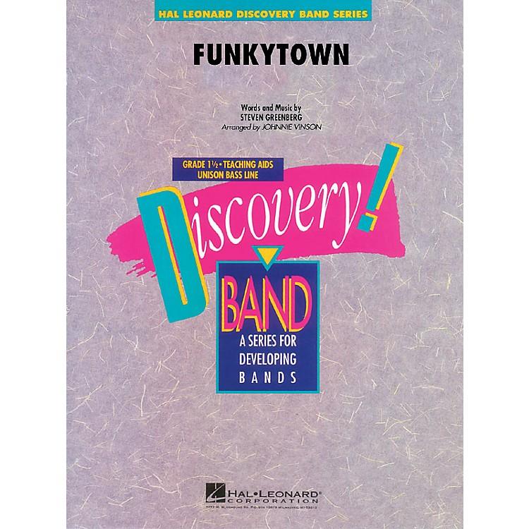 Hal LeonardFunkytown Concert Band Level 1.5 Arranged by Johnnie Vinson