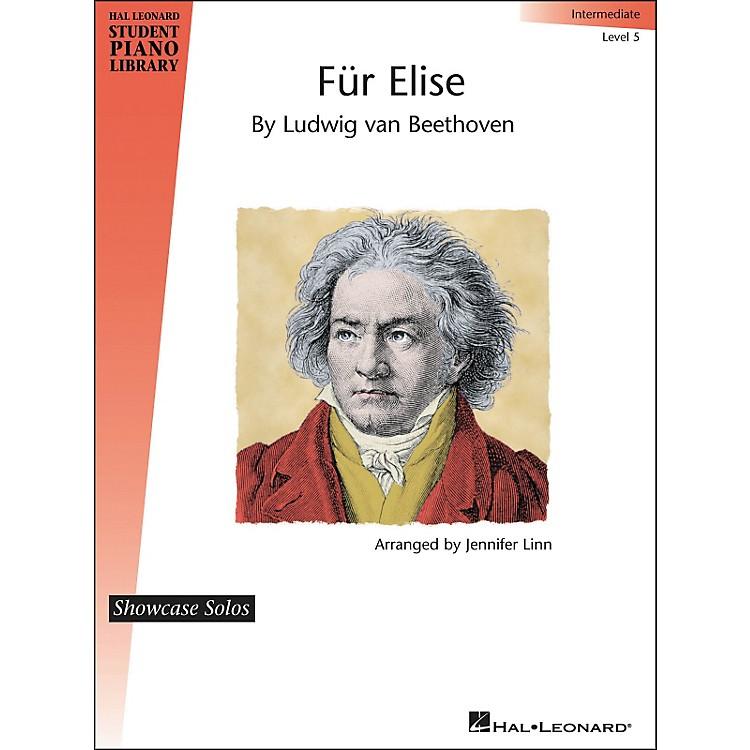 Hal LeonardFur Elise - Showcase Solo Level 5 Intermediate Level Hal Leonard Student Piano Library by Jennifer Linn