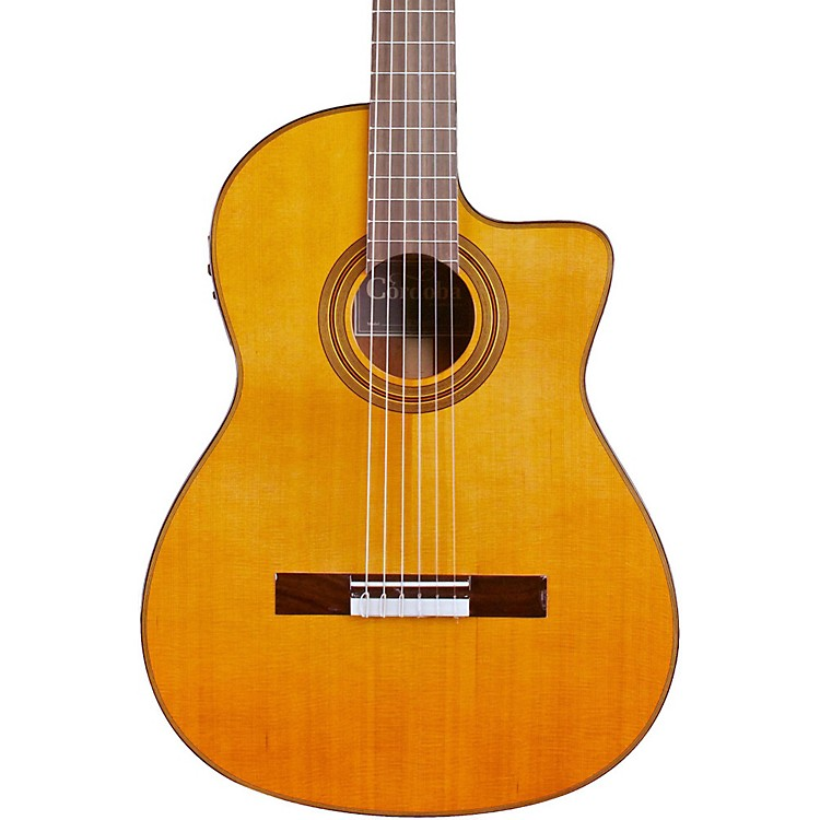 CordobaFusion 12 Natural Cedar Classical Electric GuitarNaturalCedar Top
