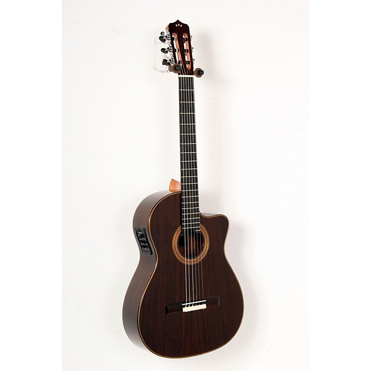 Cordoba Fusion 12 Rose Acoustic-Electric Nylon String Classical Guitar Natural 888365810775