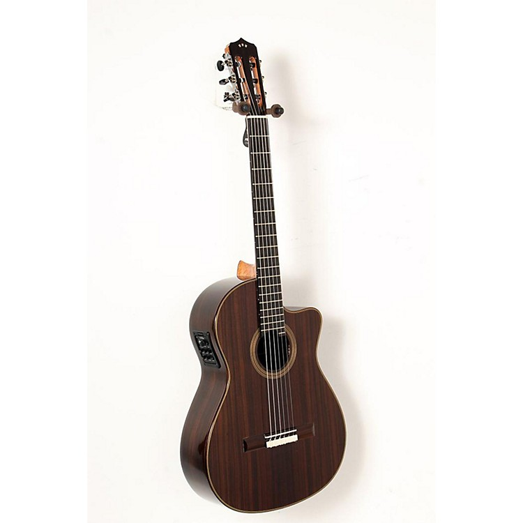 Cordoba Fusion 12 Rose Acoustic-Electric Nylon String Classical Guitar Natural 888365851853