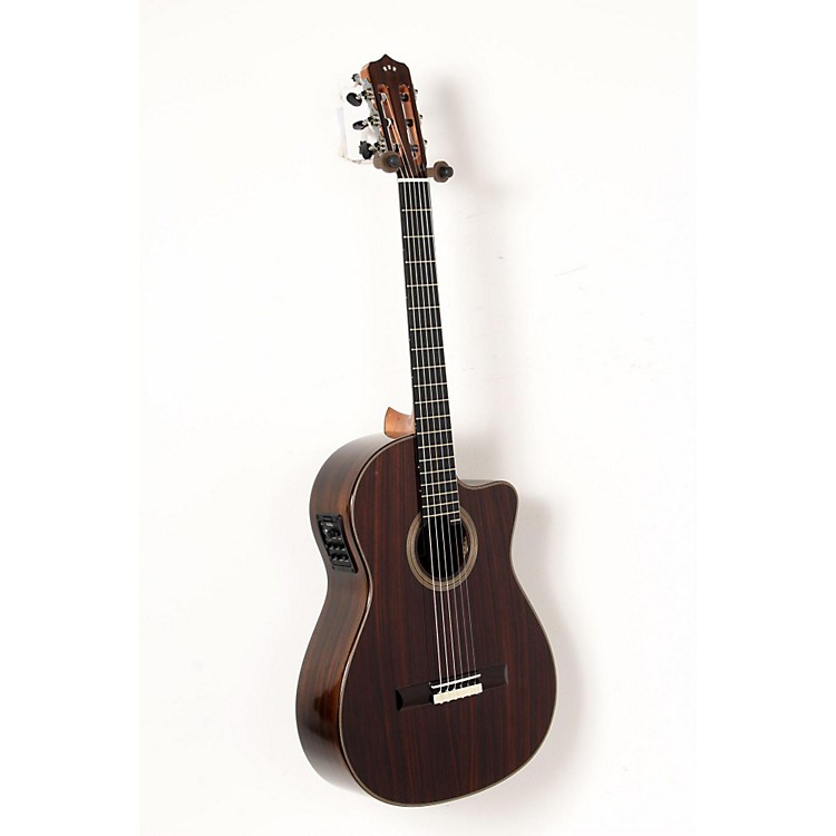 Cordoba Fusion 12 Rose Acoustic-Electric Nylon String Classical Guitar Natural 888365916118