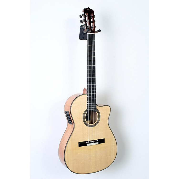 Cordoba Fusion 14 Maple Acoustic-Electric Nylon String Classical Guitar Natural 888365837512