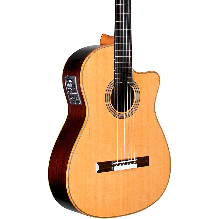 CordobaFusion Orchestra CE Crossover Classical Acoustic-Electric GuitarNatural