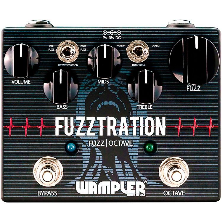 WamplerFuzztration Fuzz Octave Guitar Effects Pedal