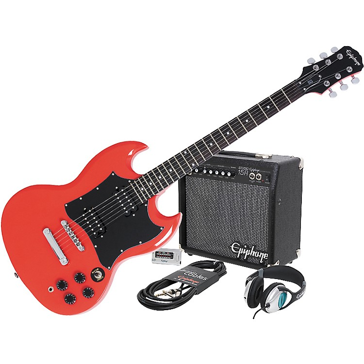 epiphone g 310 sg and all access amp pack music123. Black Bedroom Furniture Sets. Home Design Ideas
