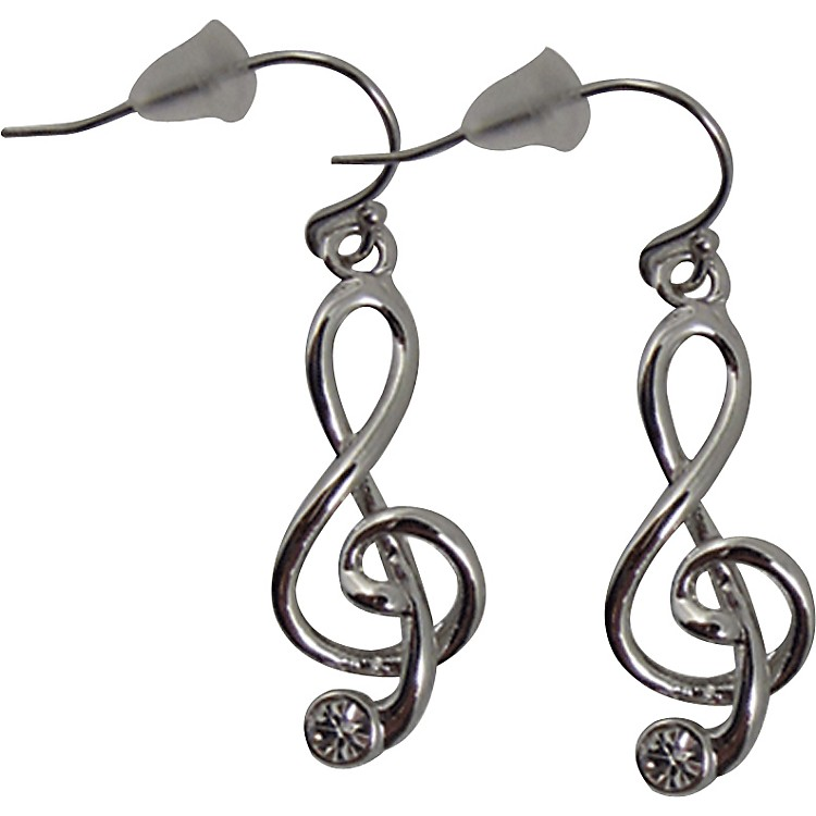 AIMG-Clef Earrings With Stone