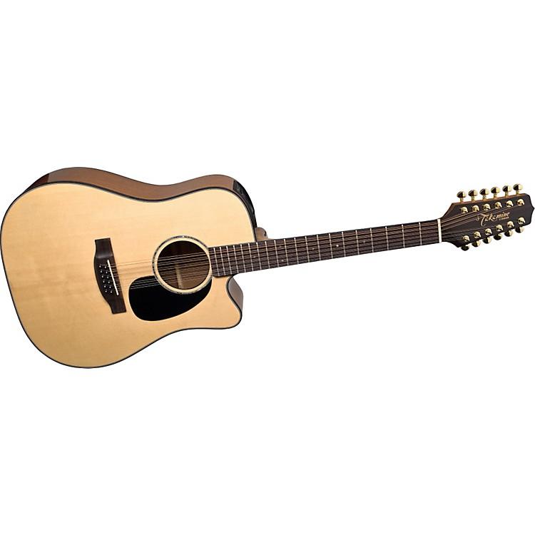 TakamineG Dreadnought EG345C 12-String Acoustic-Electric Guitar