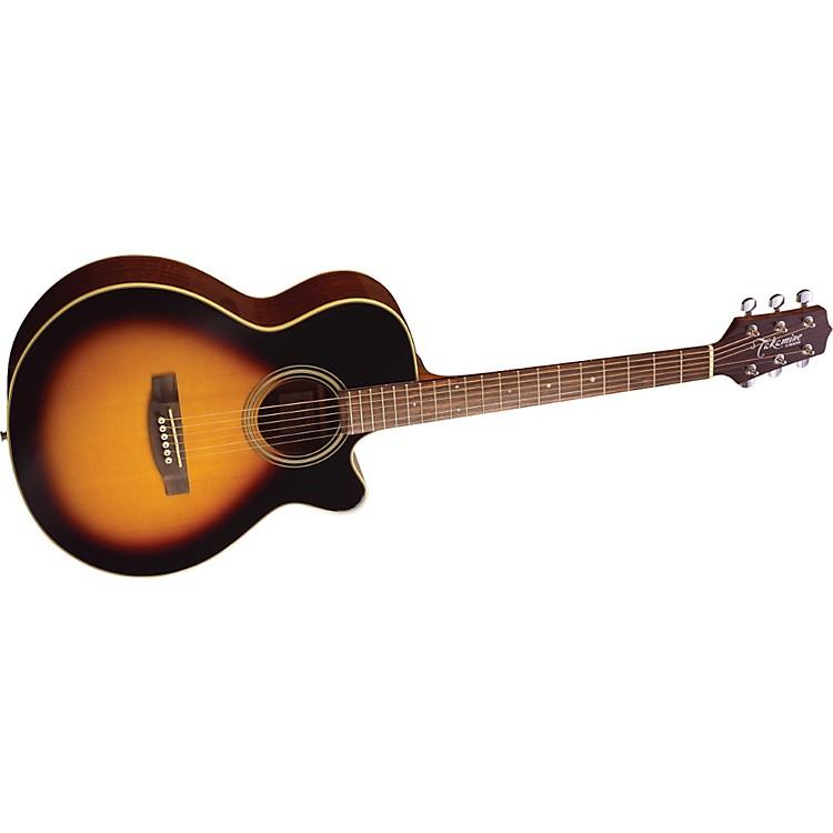 TakamineG FXC EG260C Acoustic-Electric GuitarBrown Sunburst