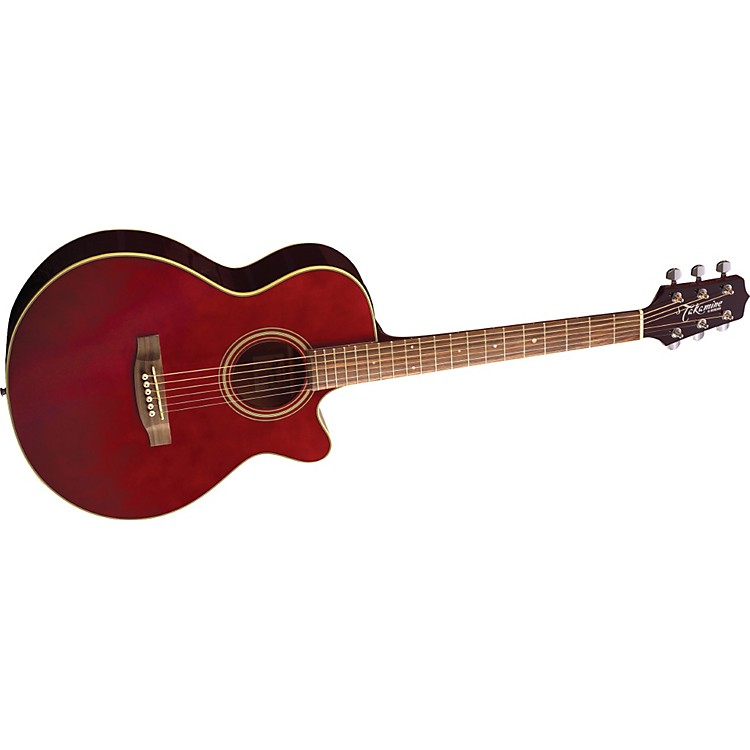 TakamineG FXC EG260C Acoustic-Electric GuitarWine Red