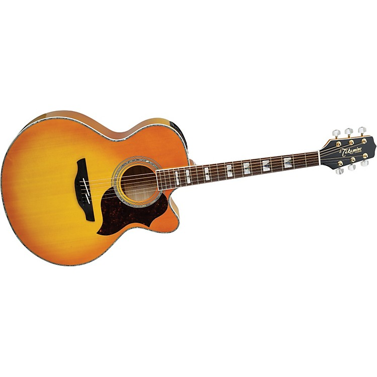 TakamineG Jumbo EG523CDX Acoustic-Electric Guitar