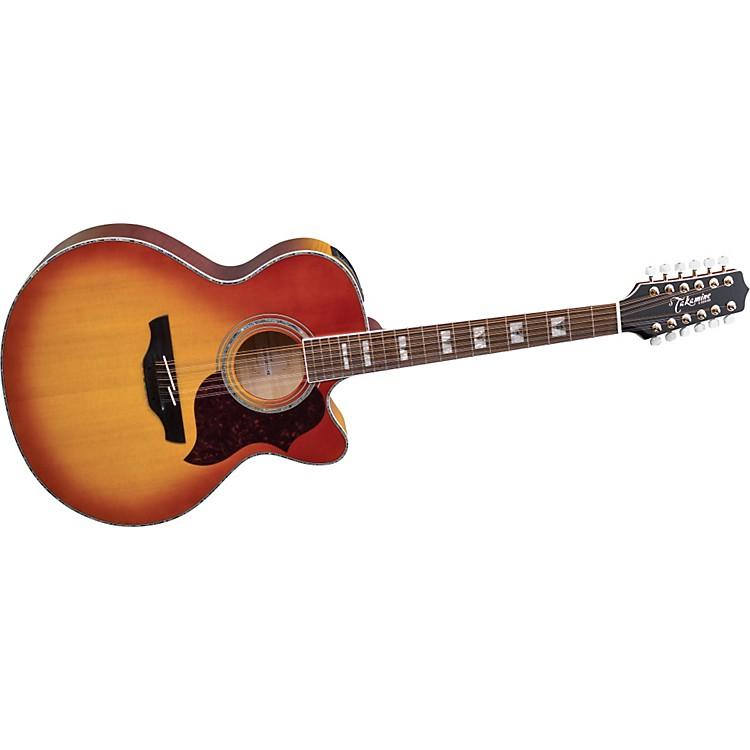TakamineG Jumbo EG523CDX12 12-String Acoustic-Electric Guitar