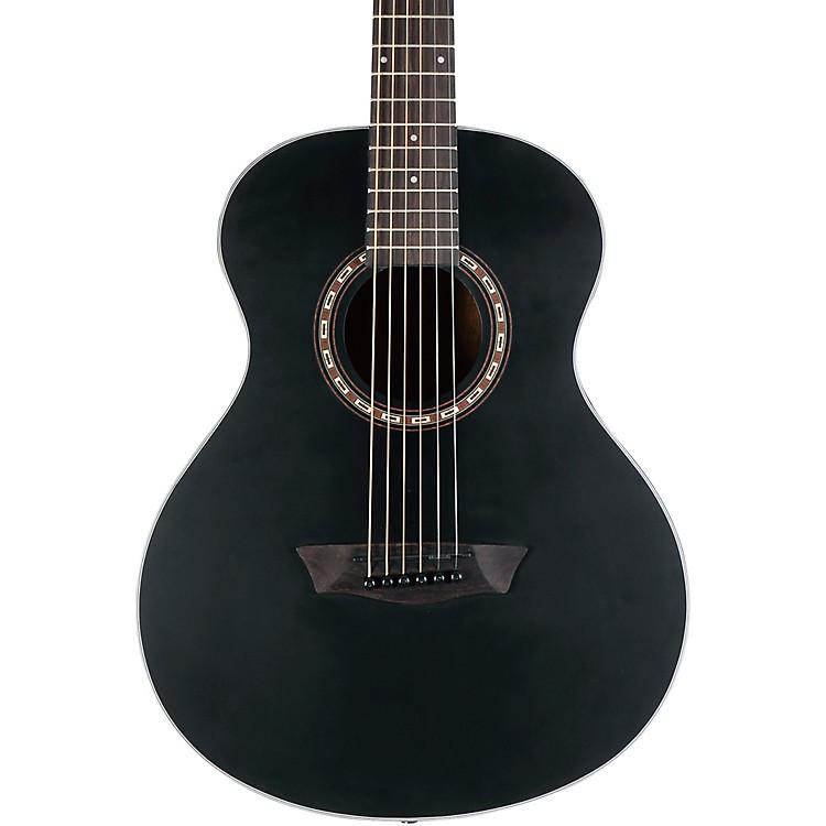 WashburnG-Mini 5 BK Travel Acoustic GuitarMatte Black