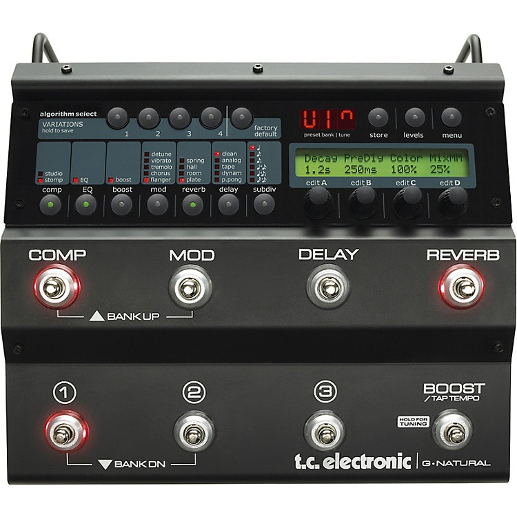 TC ElectronicG-Natural Acoustic Guitar Multi Effects Pedal