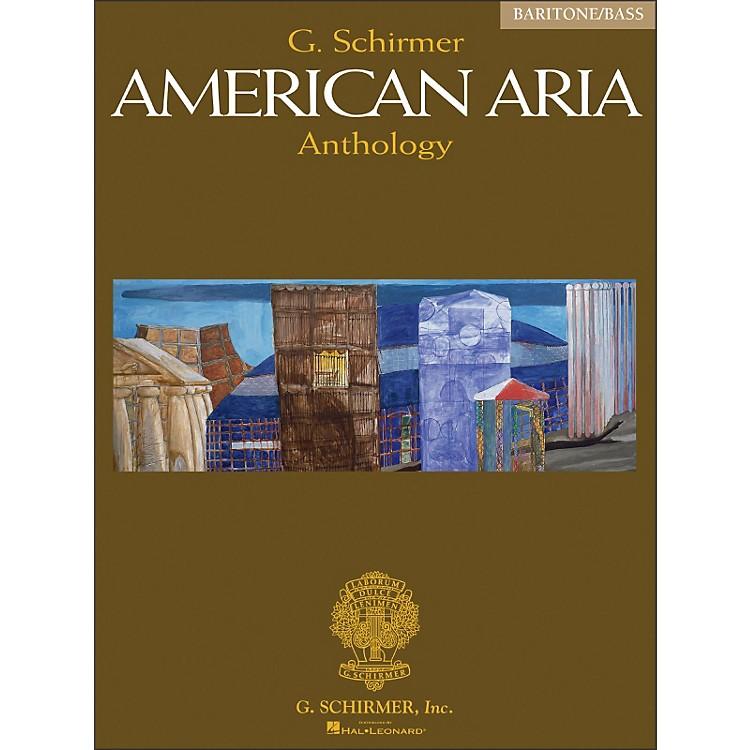G. SchirmerG Schirmer American Aria Anthology Baritone / Bass Voice