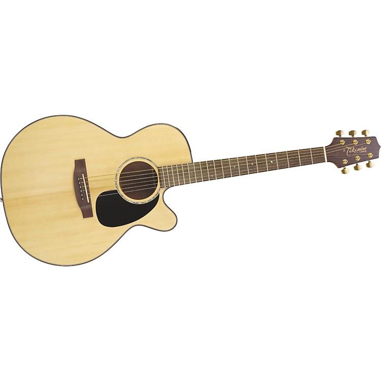 TakamineG Series EG440C NEX Acoustic-Electric GuitarNatural Mahogany