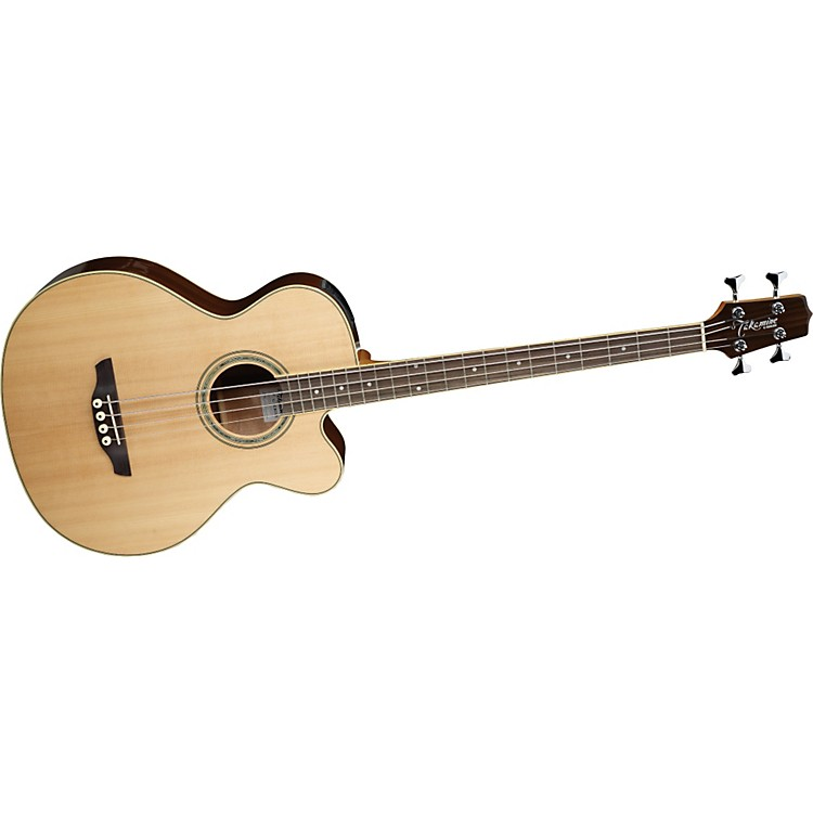 Takamine G Series EGB2S Cutaway Acoustic-Electric Bass Natural