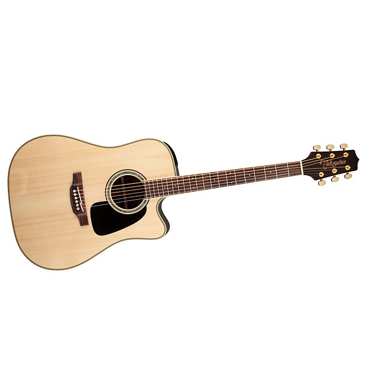 Takamine G Series GD51CE Dreadnought Cutaway Acoustic-Electric Guitar Gloss Natural