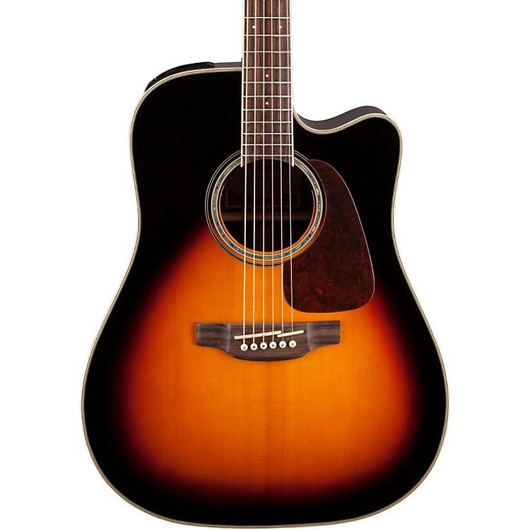 TakamineG Series GD71CE Dreadnought Cutaway Acoustic-Electric GuitarGloss Sunburst