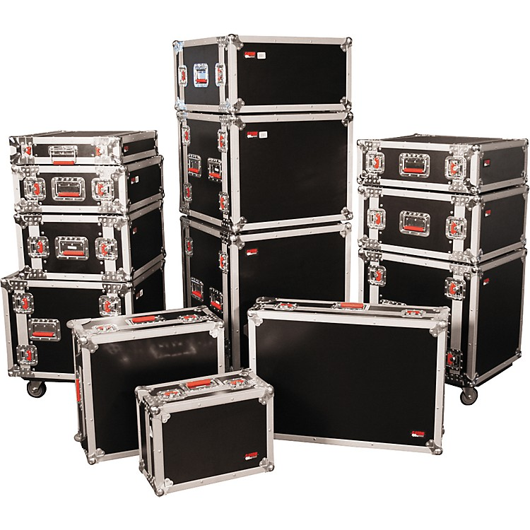 GatorG-Tour Rack Road Case with Casters14 Spaces