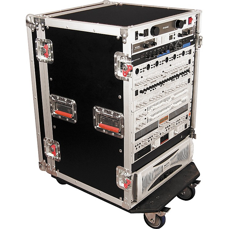 GatorG-Tour Rack Road Case with Casters16 Space