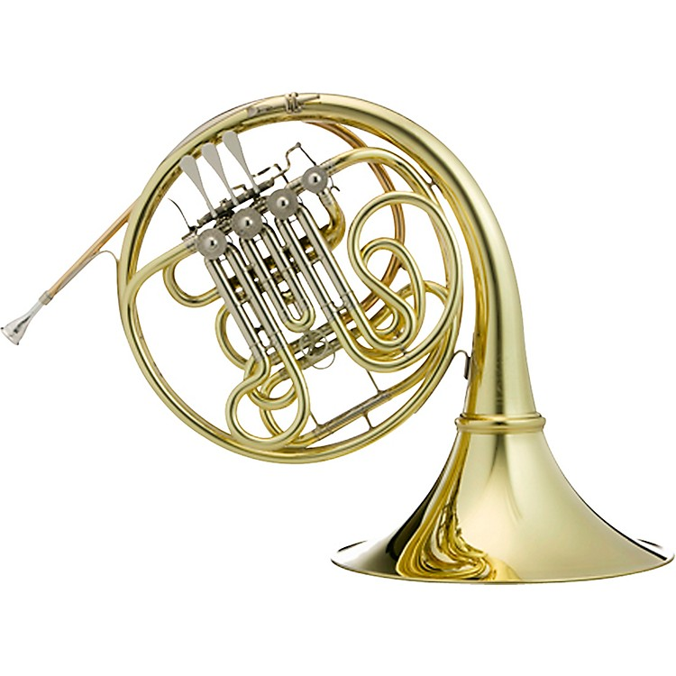 Hans Hoyer G10 Geyer Style Series Double Horn with String Linkage and Detachable Bell Yellow Brass Detachable Bell