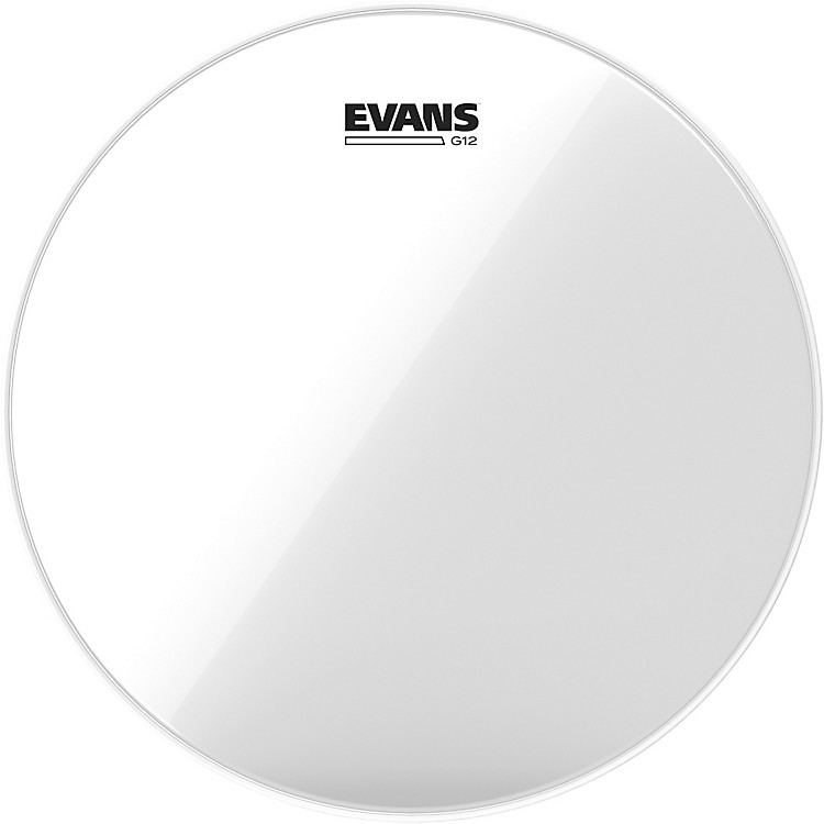 Evans G12 Clear Batter Drumhead 8 in.