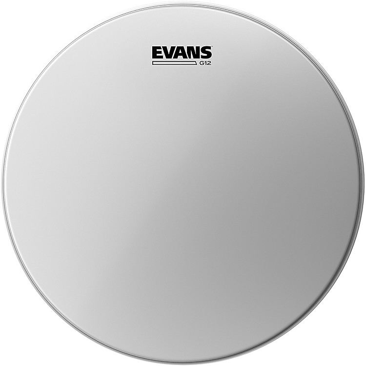 Evans G12 Coated White Batter Drumhead 13 in.