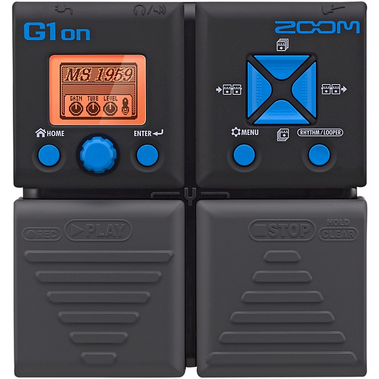 ZoomG1on Guitar Multi-Effects Pedal