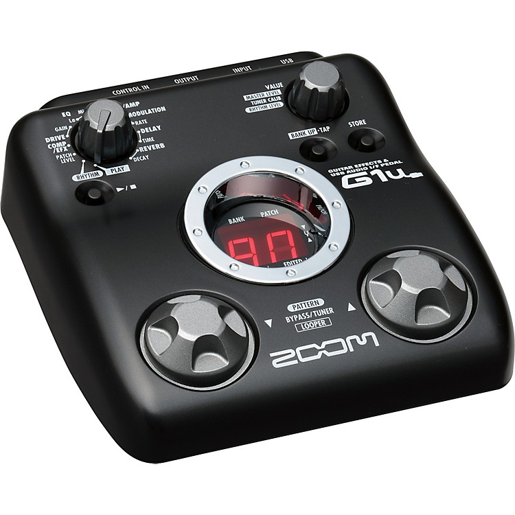 ZoomG1u Guitar Multi-Effects Pedal/USB Interface