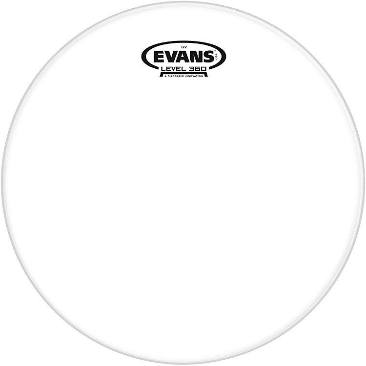 Evans G2 Clear Batter Drumhead 6 in.