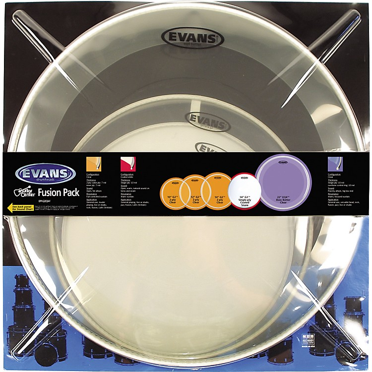 Evans G2 Drum Head Pack