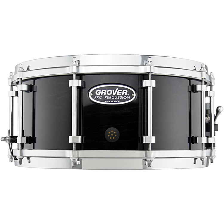 Grover ProG2 Symphonic Snare DrumCharcoal Ebony14 x 6.5 in.