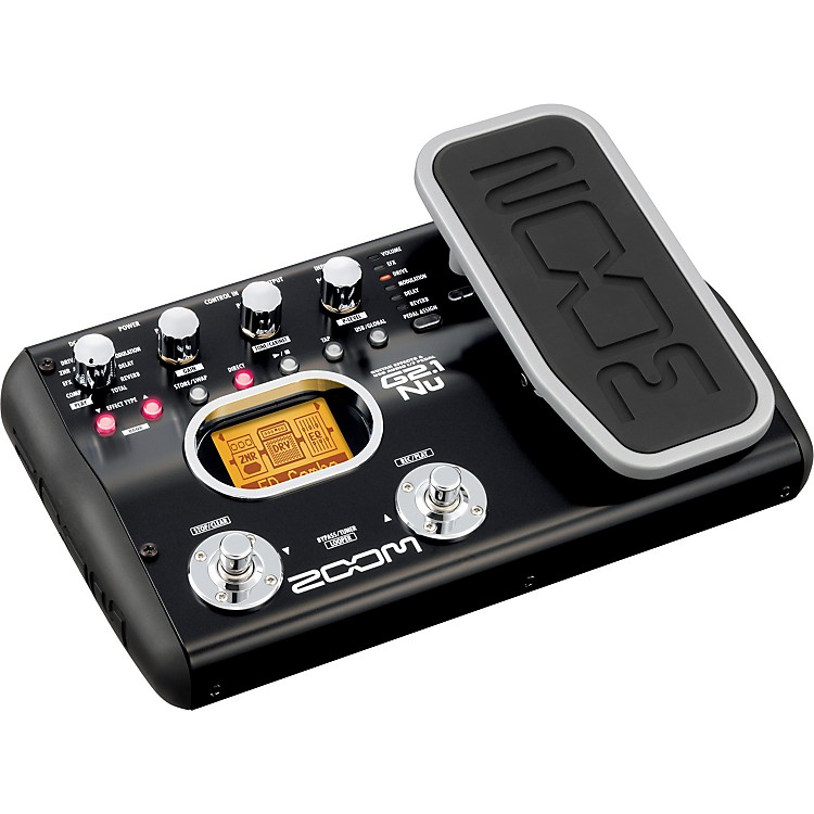 ZoomG2.1Nu Guitar Multi-Effects Pedal/USB Interface