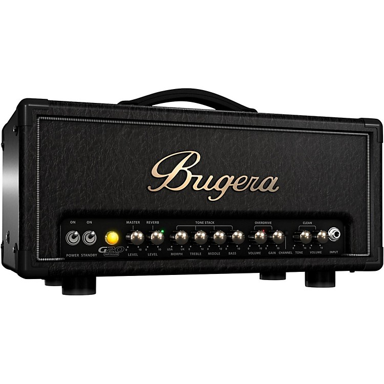 Bugera G20 20W Tube Guitar Amplifier Head Black