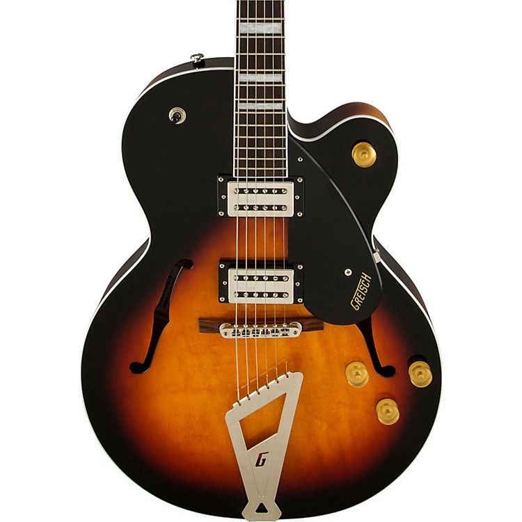 Gretsch Guitars G2420 Streamliner Single Cutaway Hollowbody Black