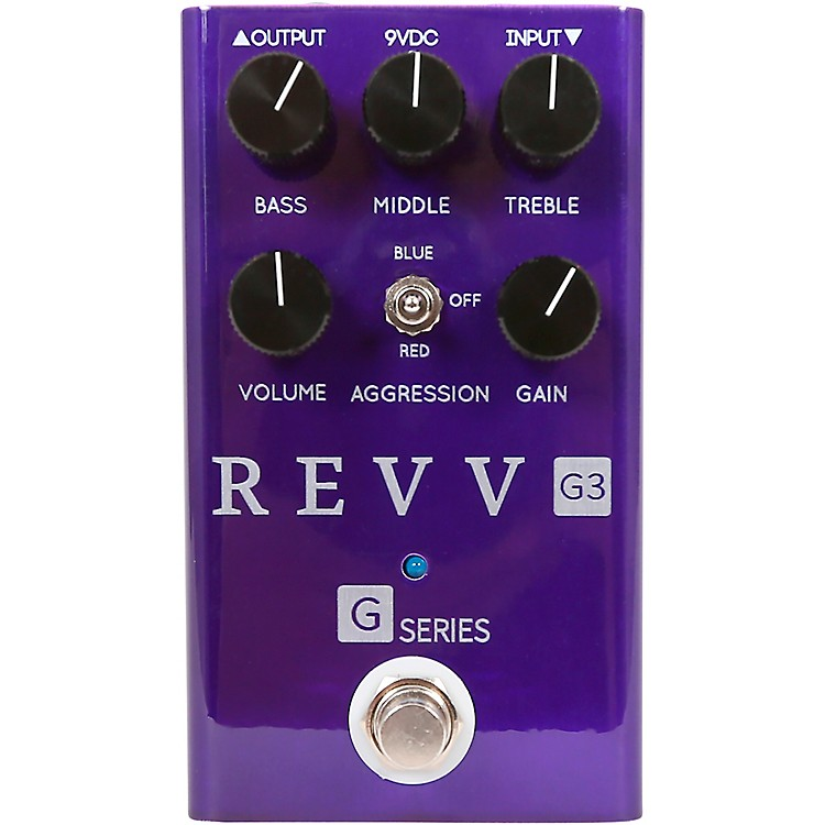 Revv AmplificationG3 Distortion Effects Pedal