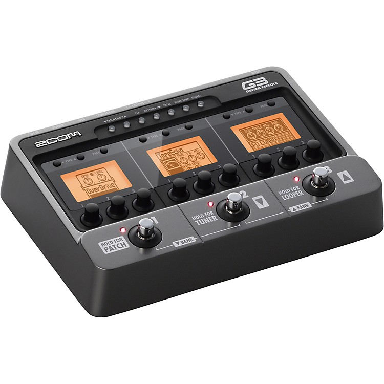 Zoom G3 Guitar Multi-Effects Pedal and Looper  888365901886
