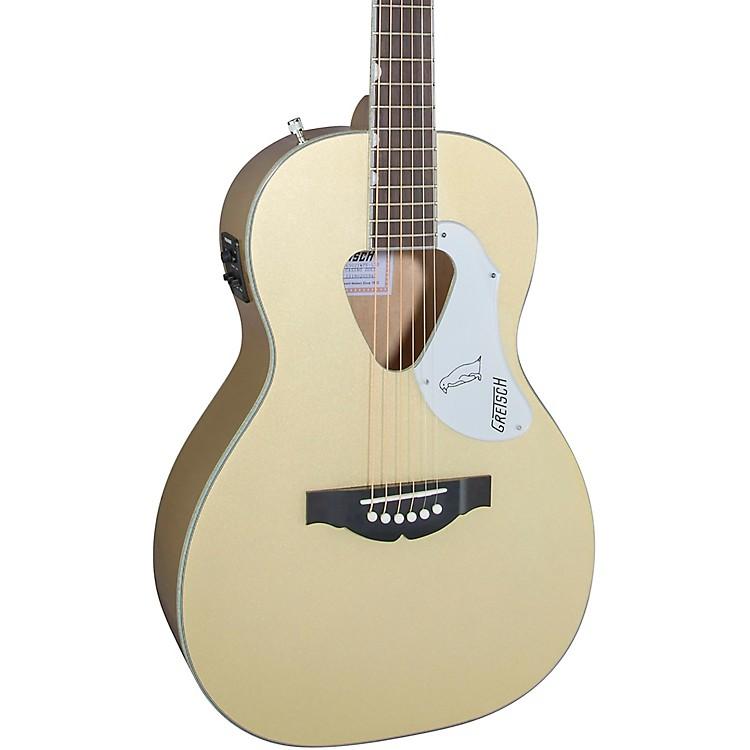 Gretsch GuitarsG5021E Limited Edition Rancher Penguin Parlor Acoustic-Electric GuitarCasino Gold