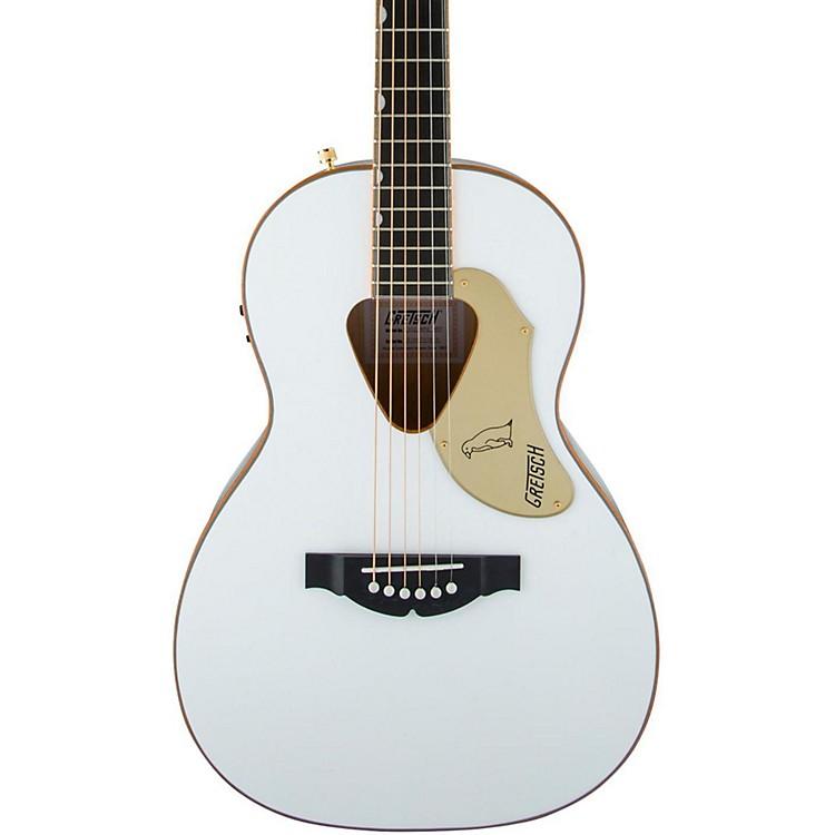 Gretsch GuitarsG5021WPE Rancher Penguin Parlor Acoustic/ElectricWhite